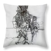 Tzadik 4 Throw Pillow