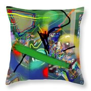 Tzadik 6 B Throw Pillow