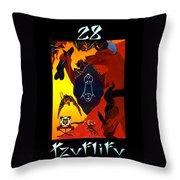Tzuflifu   - The Emperor Throw Pillow