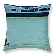 U Buy I Fly Throw Pillow