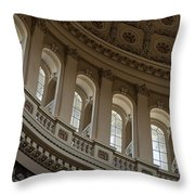 U S Capitol Dome Throw Pillow
