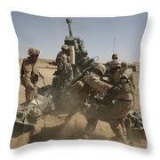 U. S. Marines Ram A Satellite-guided Throw Pillow