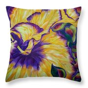 UBE Throw Pillow