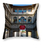 Uffizi Throw Pillow