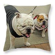 Uga And Cindy Throw Pillow