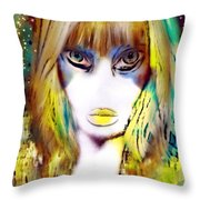 Ughly Me Throw Pillow