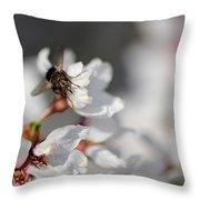 Ugly Pollinator Throw Pillow