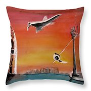 Uglydream911 Throw Pillow