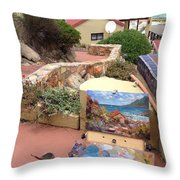 Uitsig Cottage Throw Pillow