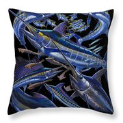 Ultimate Goal Off00128 Throw Pillow