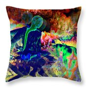 Ultimate Volcano Wishes Throw Pillow
