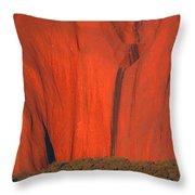 Uluru 2 Throw Pillow