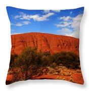 Uluru Central Australia Throw Pillow