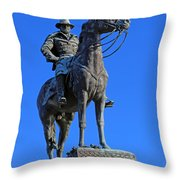 Ulysses S. Grant Guards The United States Capitol Throw Pillow