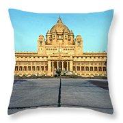 Umaid Bhawan Palace Throw Pillow