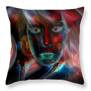 Umbilical Connection To A Dream  Throw Pillow by Otto Rapp