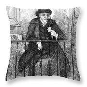 Umbrella, 19th Century Throw Pillow
