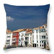 Ummm Venice Throw Pillow