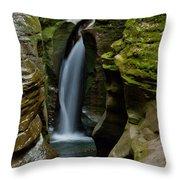Un-named Falls Throw Pillow