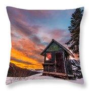 Unbelievable Sunrise Throw Pillow