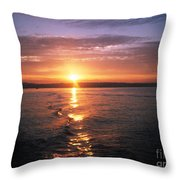 Unbelievable Sunrise Throw Pillow