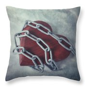 Unchain My Heart Throw Pillow