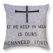 Unchanged Forever Throw Pillow