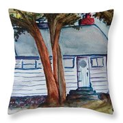 Uncle Bills Cottage Throw Pillow