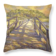 Uncle Tim's Bridge Throw Pillow