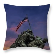 Uncommon Valor Was A Common Virtue Throw Pillow