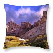 Uncompaghre Wilderness Throw Pillow
