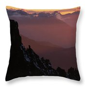Uncompahgre National Forest, Co Usa Throw Pillow