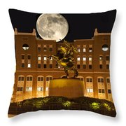 Unconquered Doak Campbell Full Moon Throw Pillow