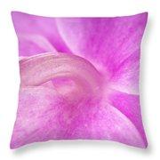 Under An Orchid Throw Pillow