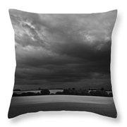 Under Dark Sky Throw Pillow