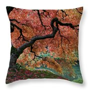Under Fall's Cover Throw Pillow