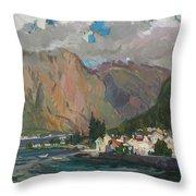 Under Heaven Of Montenegro Throw Pillow