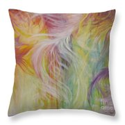 Under His Wings Throw Pillow