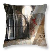 Under Key Bridge Throw Pillow