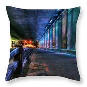 Under Lasalle St. Station Throw Pillow