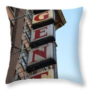 Under Regent Throw Pillow