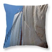Under Sail Throw Pillow