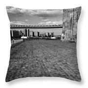 Under The Brooklyn Bw2 Throw Pillow
