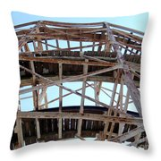 Under The Cyclone Throw Pillow