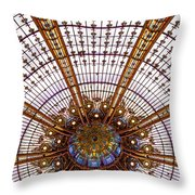 Under The Dome - Paris, France Throw Pillow