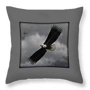 Under The Double Eagle Throw Pillow