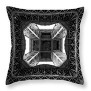Under The Eiffel Throw Pillow