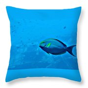 Under The Honolulu Sea Throw Pillow
