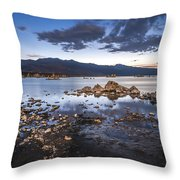 Under The Light Of The Full Moon Throw Pillow