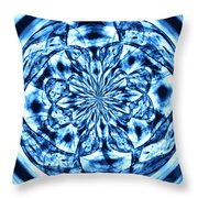 Under The Microscope Throw Pillow